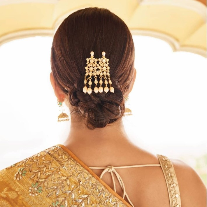 20 Unique And Trending Bridal Hair Accessories For The Modern Indian with regard to Indian Bridal Hair Accessories List