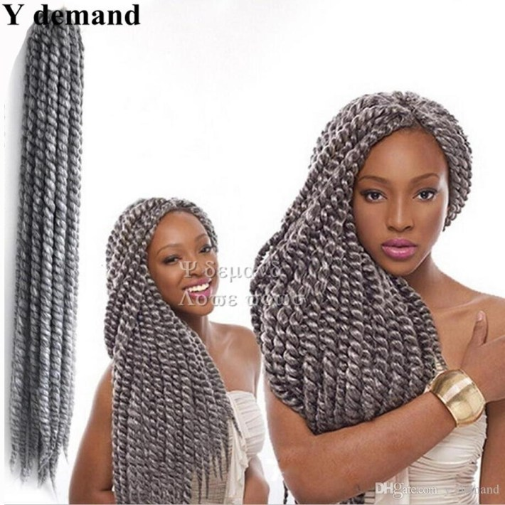 2019 Discount Havana Mambo Twist Crochet Braid Hair 22 125G/pack in Mambo Twist Hair Styles