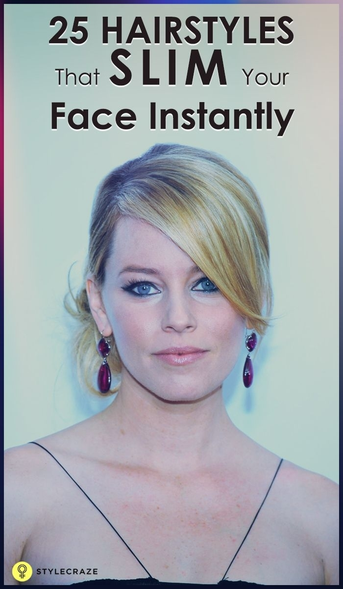 how to make face slim with hair cut - wavy haircut