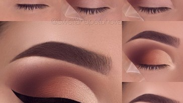 26 Easy Step By Step Makeup Tutorials For Beginners | Eyeshadow with Makeup Step By Step Pictures