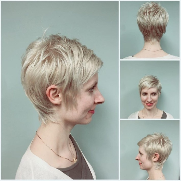 39 Flattering Hairstyles For Thinning Hair (Popular For 2019) with regard to Woman Hair Falling Out Haircut Style