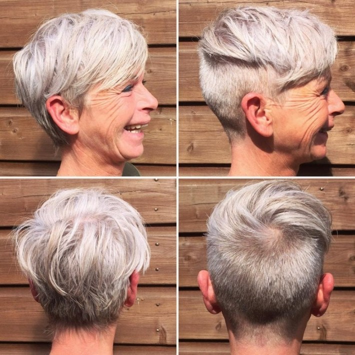 43 Youthful Short Hairstyles For Women Over 50 (With Fine & Thick Hair) intended for Thin Grey Hair What Is The Best Haircut