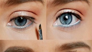 5 Ways To Make Blue Eyes Pop With Proper Eye Makeup - Her Style Code intended for How To Apply Natural Eye Makeup For Blue Eyes