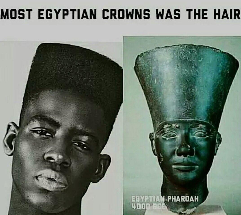 high top fade ancient eygpt - wavy haircut