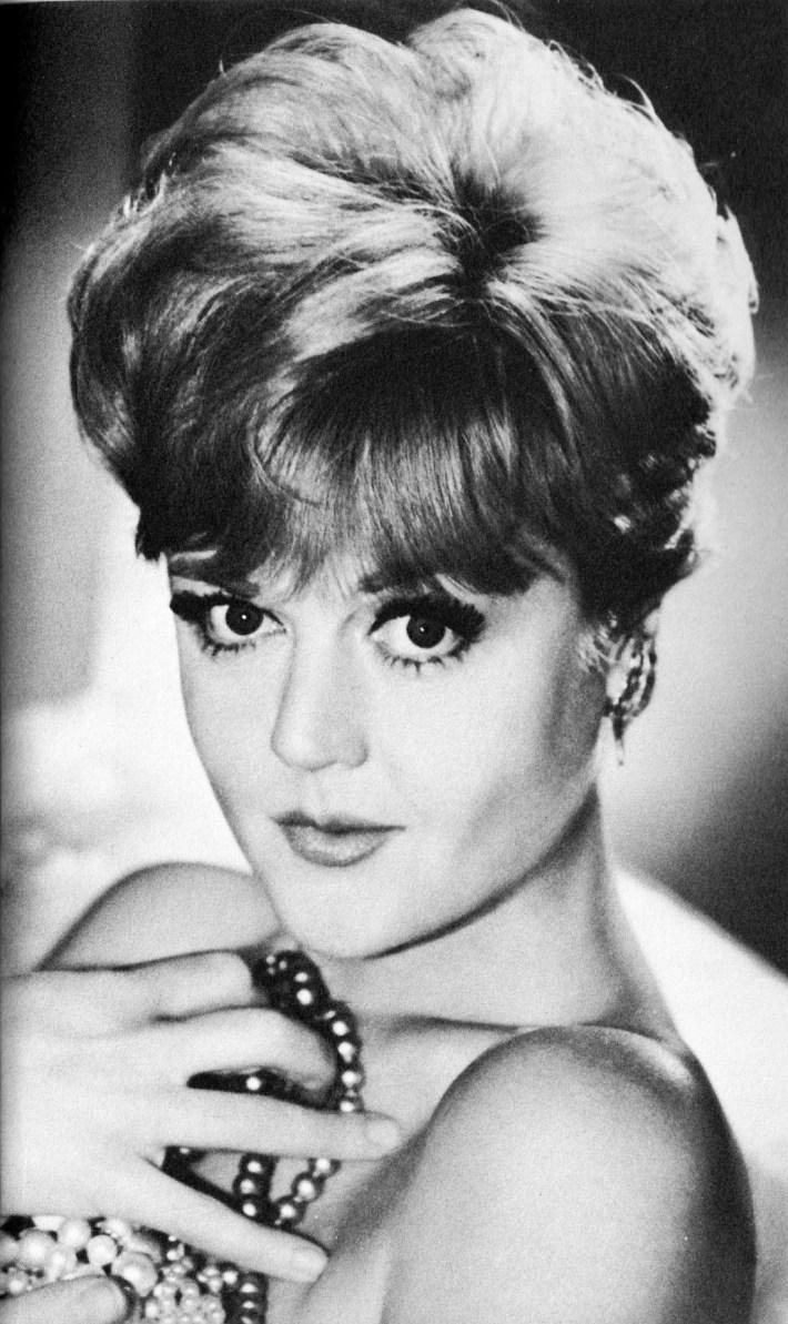 angela lansbury murder she wrote hair style - wavy haircut