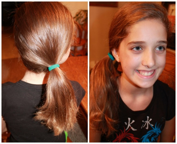 Back School Cute Easy Hairstyles Side Pony | Sophie Hairstyles - 26850 intended for Easy Hairdo For Middle School Dance