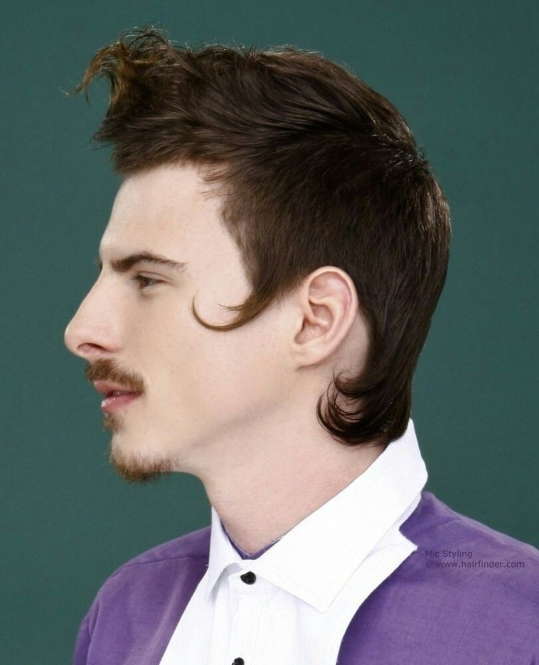 Buzz Cut With 18Th Century Sides Men's Hairstyle Haircut | Álainn within Description Of 18Th Century Mens Hair Styles