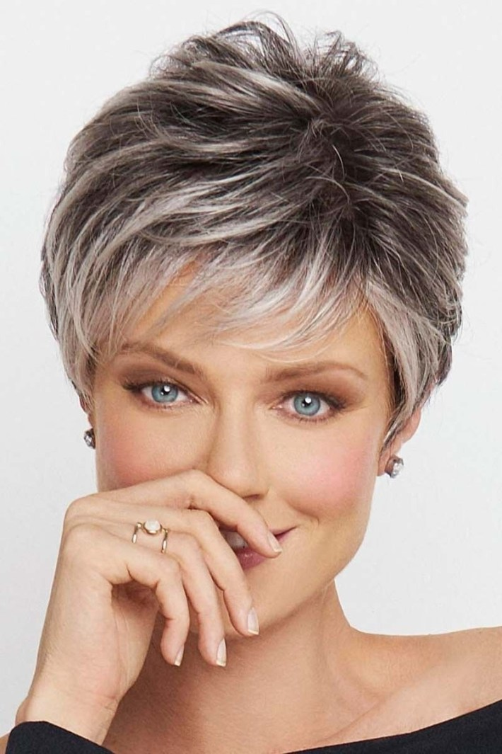 Crushing On Casual By Raquel Welch Wigs - Lace Front, Monofilament inside Front And Back Pictures Of Rochelle Welch Hairstyles