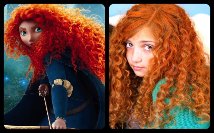 Get Merida's Fiery And Curly Red Hair | Disney Princess Hairstyles regarding Ling Curly Red Hair Styles