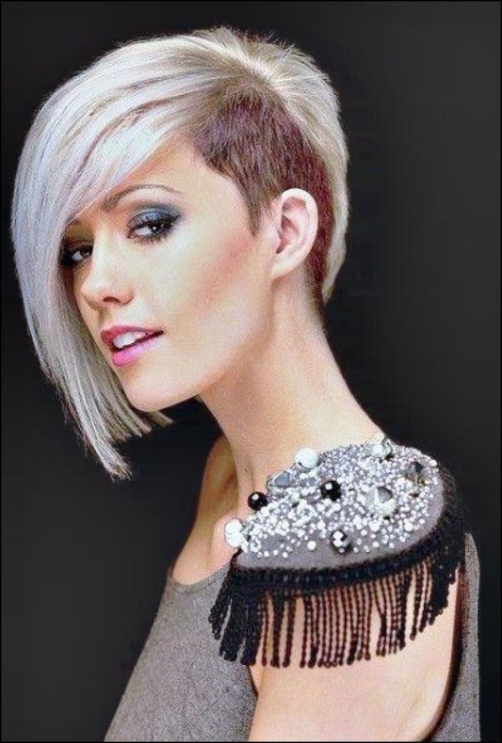Girl Haircut One Side Shaved | Hair Ideas In 2019 | Short Punk in Hair Cut One Side Short