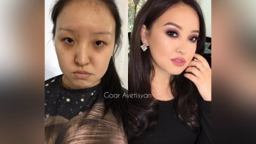 Goar Avetisyan: Interesting Asian Makeup ♥ Before And After Videos within Before After Makeup Korean