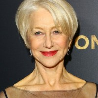 Helen Mirren 2019 Haircut