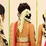 Indian Bridal Hairstyle Step By Step - South Indian Bridal Hair in Hair Style Of Bridal Indian