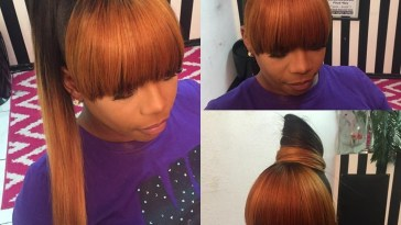 Kinda Like The Color Concept | Hair In 2019 | Hair Styles, Weave intended for Quick Weave Ponytail Hairstyles