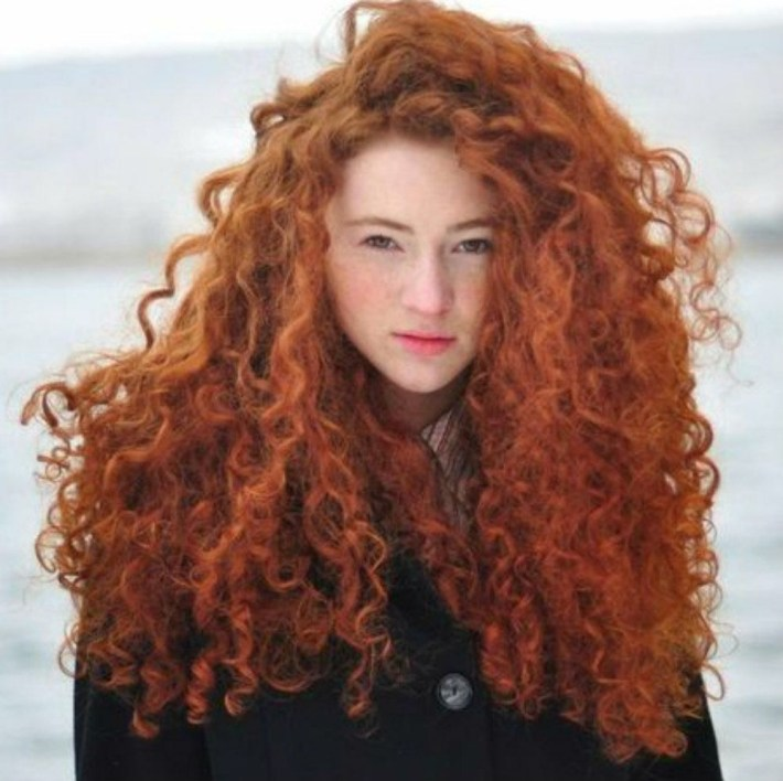 Pin By Maximilian Veers On The Ginger | Curly Hair Styles, Hair with Ling Curly Red Hair Styles