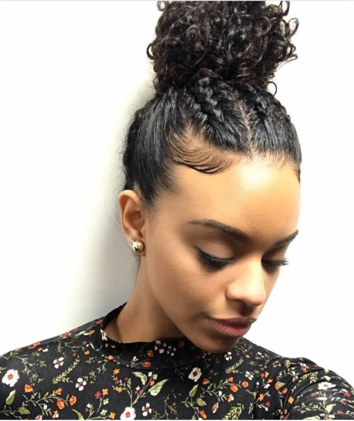 Pin By Obsessed Hair On Hair Tips & Hair Care | Curly Hair Styles intended for Mixed Girls Hair Cut Pictures