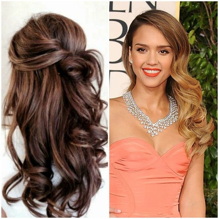 Prom Hairstyles Curly Hair Down New Long Hairstyle Trends For Prom with Curly Down Prom Hairstyles