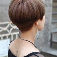 Back View Of Short Wedge Haircuts