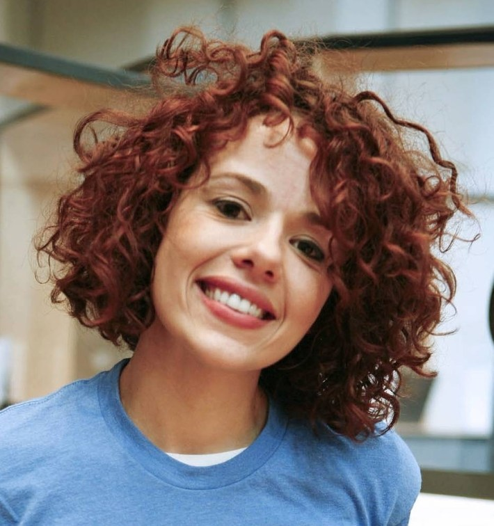 Styling Ideas For Redheads With Naturally Curly Hair - The Xerxes for Ling Curly Red Hair Styles