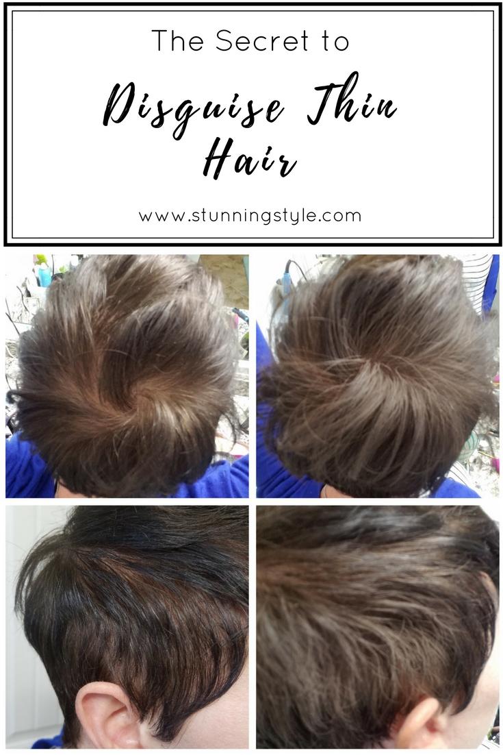 ladies hairstyle disguising alopecia - wavy haircut