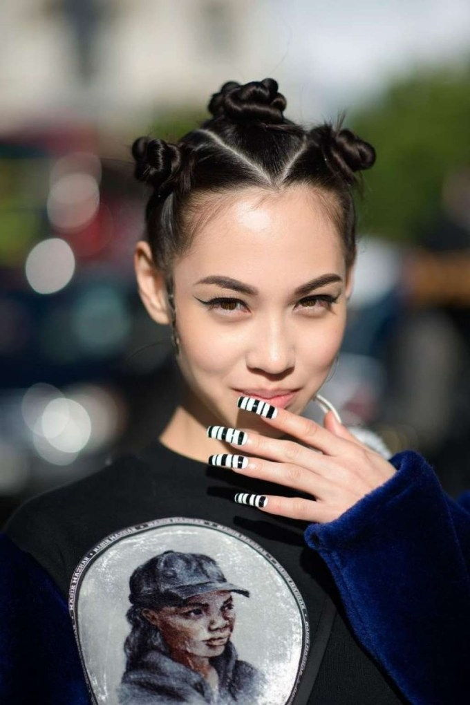hip hop hairstyles girls - wavy haircut