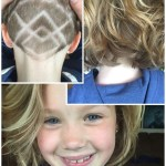 Undercut Nape Shave Design Girls Haircut | Hair Did. In 2019 | Girls within Little Girls Shaved Undercut Haircut
