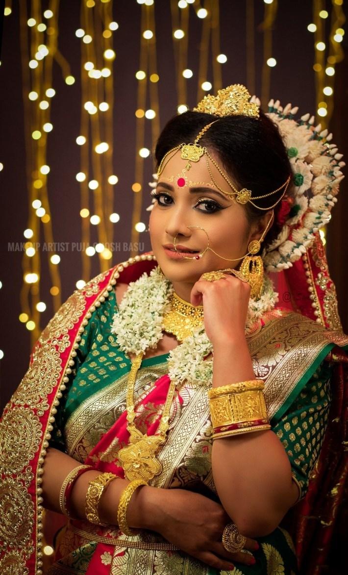"Visit The Page "" Makeup Artist Puja Ghosh Basu "" On Facebook for Bridal Makeup Pics Facebook"