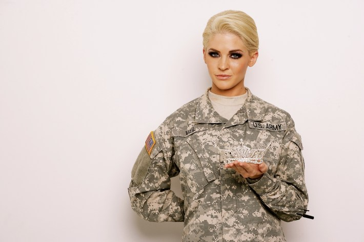 Will The Next Miss America Wear Combat Boots? | Huffpost with How Do Women With Short Hair In The Military