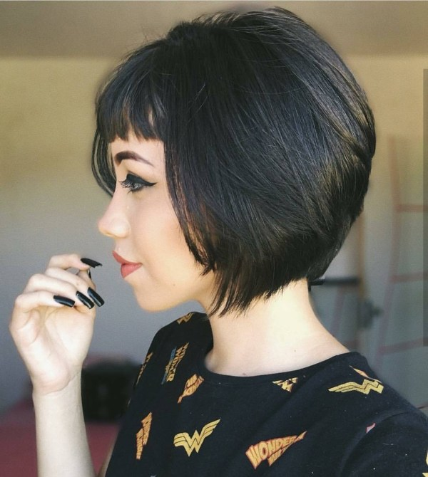 10 Chic Short Bob Haircuts That Balance Your Face Shape! with regard to The best Short Bob Hairstyles For Asian Hair
