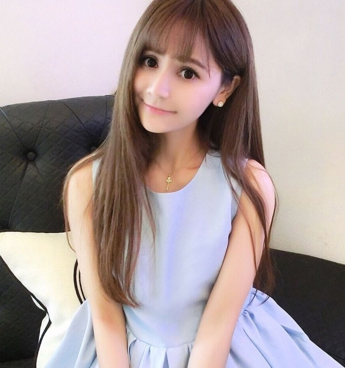 2019 Fancy Korean Girls Straight Medium Hairstyle for The greatest Cute Korean Hairstyles For Medium Hair