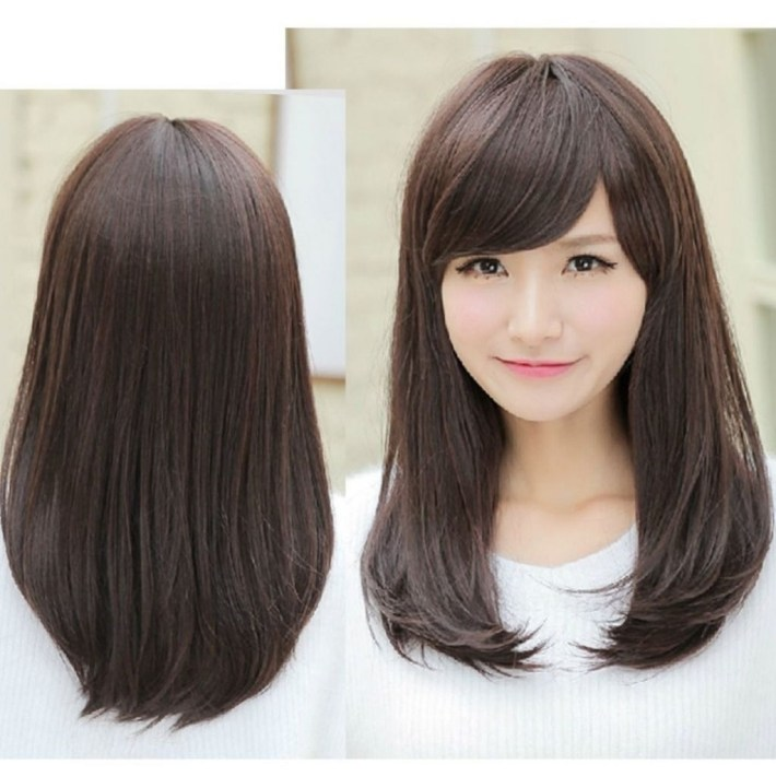 Asian Hairstyles With Side Bangs Hairstyle Hits Pictures   Mid regarding Asian Hairstyles With Side Bangs