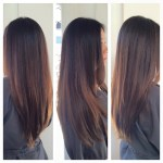 Balayage Caramel Highlights. Asian Hair. Asian Highlights for Asian Hairstyles With Highlights
