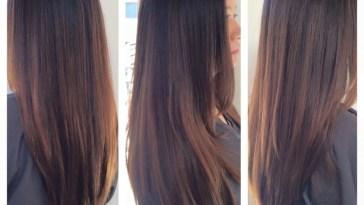 Balayage Caramel Highlights. Asian Hair. Asian Highlights for Asian Hairstyles With Highlights