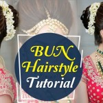 Bun Hairstyle Tutorial | Step By Step Indian Bridal Hairstyle Tutorial  Video | Krushhh By Konica with regard to Bun Hair Style For Indian Bride