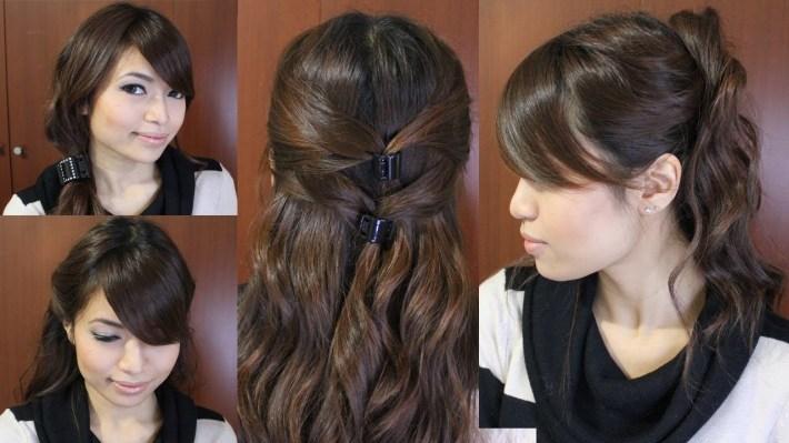 Casual Friday Easy Hairstyles For Medium Long Hair Tutorial inside Casual Indian Hairstyles For Long Hair