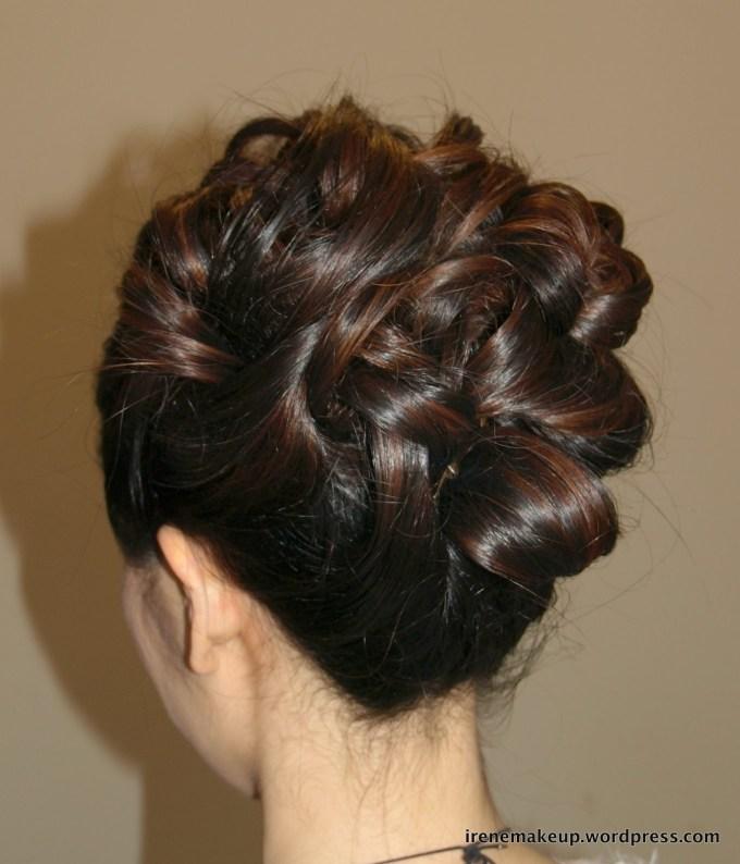 Chinese Bridal Hairstyles- Classic Sleek Updo 新娘盘头发型 | 伦敦 regarding Best Asian Wedding Updo Hairstyles