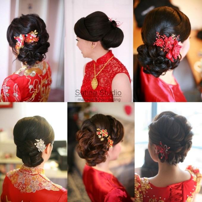 Chinese Wedding Hairstyles Satinestudio Bridal Updo, Toronto regarding Asian Wedding Updo Hairstyles