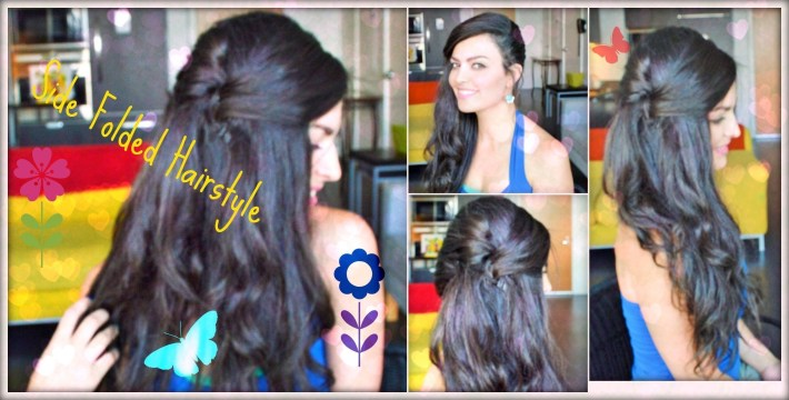 Easy Quick Side Folded Party/casual Hairstyle For Long/medium Hair with regard to Casual Indian Hairstyles For Medium Hair