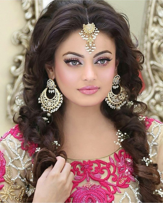 Pin By Moosa Sami Khan On Asian Bride | Indian Wedding Jewelry within Superb Asian Indian Wedding Hairstyles