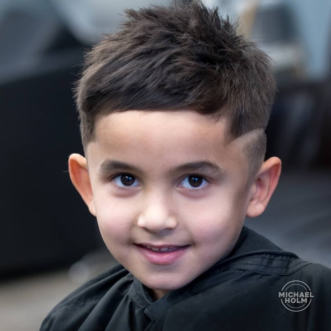 Popular Haircuts For Little Boys 2018 in Asian Toddler Boy Hairstyles