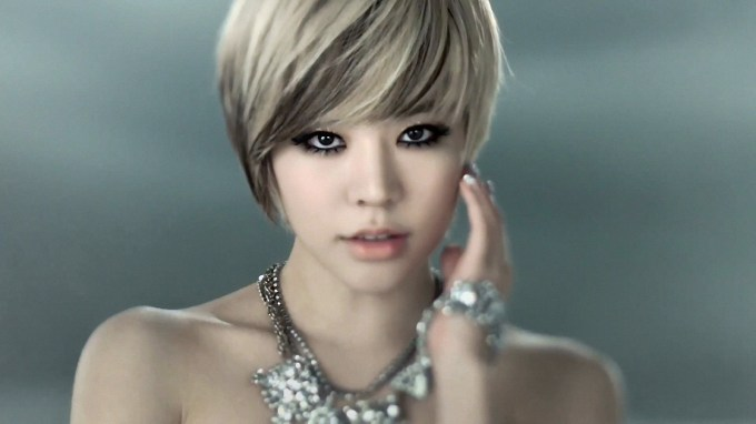Short Blonde+Black Hairstyle. Sunny From Snsd. | Asian Hair pertaining to Superb Asian Short Hairstyles For Fine Hair