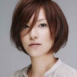 Short Haircut For Square Face Korean – Wavy Haircut   Best with Top-drawer Lady Short Hairstyles Asian Round Face
