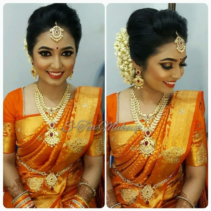 South Indian Bride | South Indian Bridal Hairstyle | Indian Bridal with South Asian Wedding Hairstyles