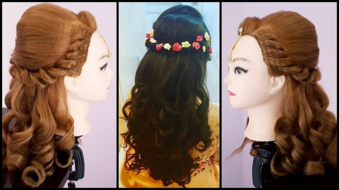 Wedding Hairstyle || Asian Wedding Hairstyles || Easy Wedding intended for Wedding Hairstyles For Asian Hair