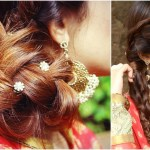 3 Indian Hairstyles For Medium To Long Hair | Indian Wedding Hairstyles For  Medium Hair for New Indian Hairstyles For Long Hair