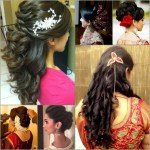 49 Simple Hairstyles For South Indian Wedding Reception throughout South Indian Curly Hairstyles