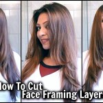 How To Cut Face Framing Layers At Home! │ Diy Long Layered Haircut │ Cut  Your Own Hair Tutorial! for Insert My Face To Hair Cut Styles