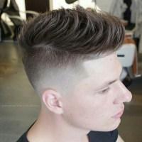 Foward Combed Hair Style
