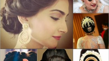 Top 5 Hairstyles For An Indian Wedding with regard to Indian Hairstyle With Beads