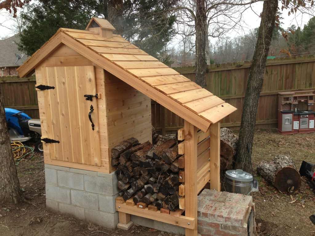 Building A Smoke House ON TARGET In CANADA